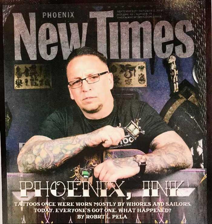 Harley Goodson, tattoo artist